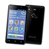 SWITEL eSmart M2 Smartphone (Dual-SIM, LTE, 3200mAh Akku mit SOS Notruftaste, lauter Klingelton und...