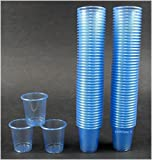 900 Schnapsbecher / Medikamentenbecher / Farbe: Hellblau / 2cl – 3cl einweg Schnapsgläser /...