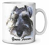 Schnauzer Dog ' Yours Forever' Kaffeetasse Geburtstag / Weihnachtsgeschenk