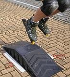 Skaterrampe mit Antirutschmatte fuer Skateboard Inliner