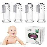 Zahnbürsten Zahnpflege , Tinabless Baby Kindermundpflege Weiche Fingerzahnbürste inkl....