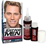 Just for Men - Haarfärbemittel, Pflege Tönungs Shampoo, Hellbraun H25