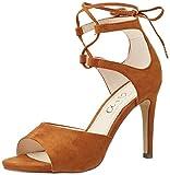 Another Pair of Shoes SiennaE1, Damen Sandalen, Braun (Mid Brown21), 38 EU (5 Damen UK)