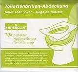 3 x 10er-Pack SUPERCLIN Toilettenbrillen-Abdeckung, WC - Brillenschutz, Hygieneauflagen, WC -...