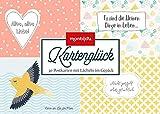 Kartenglück – pastell: 30 Postkarten im Set (monbijou)