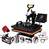 BananaB Transferpresse 8 in 1 30X38cm Heat Press Machine Tassenpressen Heißpresse T-Shirt Hut...