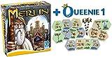 Queen Games 20211 - Merlin + 1. Erweiterung: Die Schätze des Umlandes