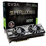 EVGA 08G-P4–5173-kr GeForce GTX 1070Superclocked ACX 7,6cm Black Edition...