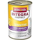 animonda Integra Protect Sensitive mit Lamm und Amaranth | Diät Hundefutter | Nassfutter bei...