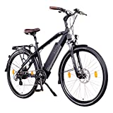 NCM Venice 48V 28 Zoll Urban E-Bike 250W Das-Kit Heckmotor 13Ah 624Wh Li-Ion Zellen Akku Schwarz...