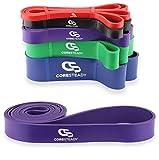 Coresteady Fitnessbänder | Klimmzug Support Band | Trainingsband für CrossFit – Powerlifting /...