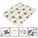 Letech® Wickelunterlage für Babys und Kleinkinder, wasserdicht, waschbar, wiederverwendbare Windel...