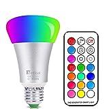 NetBoat RGBW LED Lampen, 10W E27 LED Farbige Licht Leuchtmit RGB LED Leuchtmittel Dimmbar mit...