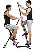 Qulista Testsieger Stepper & Vertical Climber Stair Climber klappbares Fitnessgerät, rutschfeste...