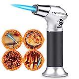 Flambierbrenner Küchenbrenne Butan Gasbrenner, Sicherheitsschloss & Edelstahl und Aluminium für...