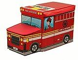 Spielzeugbox, Spielzeugkiste in 4 verschiedene Designs (Feuerwehr)