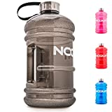 NOQUIT Water Jug - 2.2 L Fitness Trinkflasche - XXL Sport-Wasserflasche - Fitness Bottle - BPA &...