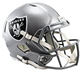Riddell Originalnachbildung Full Size Replica Speed Helm, silber