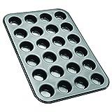 Zenker Mini-Muffinform 24er Backblech (Ø 4,5 cm), für saftige mini Muffins & Cupcakes,...