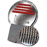 NitFree Original patentierter Läusekamm entfernt sicher Läuse, Eier und Nissen