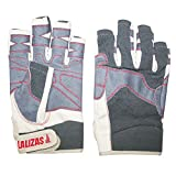 Lalizas Segelhandschuhe aus Amara Leder mit fünf freien Fingern, in den Größen S bis XXL (S)