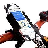 AKTIIV Handyhalterung für Fahrrad/Motorrad | Extra stabil aus Metall |Version 2017| Universal 360...