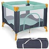 Froggy® Reisebett TROPICAL Babybett Laufstall mit Schlafunterlage, Matratze, praktische...