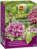 COMPO Rhododendron Langzeit-Dünger für alle Arten von Morbeetpflanzen, 3 Monate Langzeitwirkung, 2...