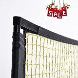 PodiuMax 4 in 1 Netz für Mini badminton, Volleyball, Tennis & Pickleball, 3m breit mit...