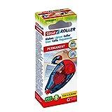 tesa Roller Kleben Permanent ecoLogo / Nachfüllbarer Kleberoller ohne Lösungsmittel - mit...