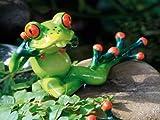 Dekofigur 'Frosch' (FROSCH ÄTSCH 16X 5X6,5 POLY 905123)