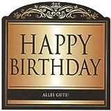 Flaschenetikett -Happy Birthday-