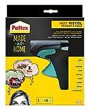 Pattex Made at Home Heißklebepistole / Klebepistole mit mechanischem Vorschub und hitzeisolierter...