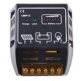 BlueBeach 10A 12V/24V Solar Panel Regler Batterie Regulator Solar Laderegler Sicherer