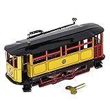 Sharplace Mini Wind-up Straßenbahn Trolley Blechspielzeug Sammlerstück Spielzeug - 17,5 x 5,5 x...