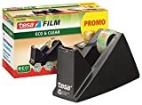 tesa Easy Cut Economy Klebebandabroller mit ecoLogo für Tische / Ökologischer Tischabroller mit...