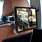 Kopfstützenhalterung - KFZ Tablet Halter für Rücksitz, 360 Grad einstellbare iPad Auto Halter...