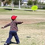 Finebuying Mini Fliegende Scheibe, Fliegende Spiel, Kreative Handschub-UFO für Sport, Spin On The...