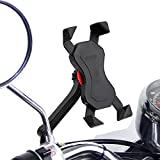 Anti-Shake Motorrad Handyhalterung Radsport Verhütung Von Abstürzen Fahrrad-Lenker Handyhalter...