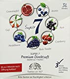 Walthers Super 7 Premium-Direktsaft aus Aronia, Goji, Acai, Cranberry, Granatapfel, Heidelbeersaft,...