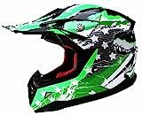 YEMA Motocross Motorradhelm Downhill Fullface Helm YM-211 Cross DH Enduro Quad Mountainbike BMX MTB...