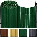 Sol Royal PVC Sichtschutz-Zaun SolVision - 80x300cm Grün - Windschutz Kunststoff-Matten Garten...