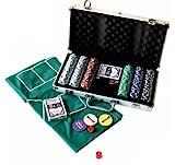 Professionelle Poker-Set mit 300 Chips