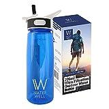 Wasserflasche für unterwegs – Reinigt Wasser durch die Beseitigung von 99,9% aller Bakterien &...