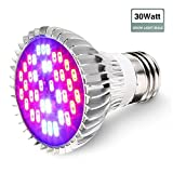 SOLMORE E27 LED Pflanzenlampe Pflanzenleuchte Pflanzen Lampen Grow Wachsen Lichter Pflanzenlicht...