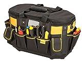 Stanley FatMax Werkzeugtasche / Werkzeugbeutel (50x33x31cm, mit runder Öffnung, formstabile...