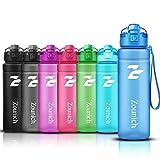 ZOUNICH Sport Trinkflasche BPA frei Auslaufsicher Wasserflasche 500ml/700ml/1L Kunststoff Geeignet...