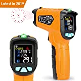 Infrarot Thermometer AD70 IR Laser Digital Thermometer -50°C bis 800°C kontaktfreies mit Farbe lcd...
