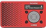 TechniSat DIGITRADIO 1 SWR3-Edition - Digital-Radio Made in Germany (klein, tragbar, für Outdoor...