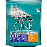 One Senior 7+  Katzenfutter Huhn, 8er Pack (8 x 800 g)